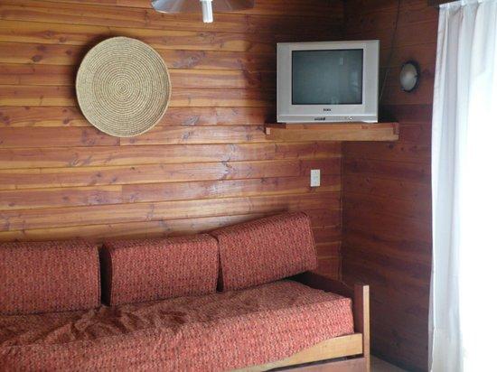 Hosteria y Cabanas del Campo:                   estar