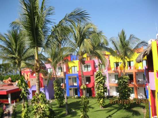 Royal Decameron Complex:                   One of the buildings on the resort.