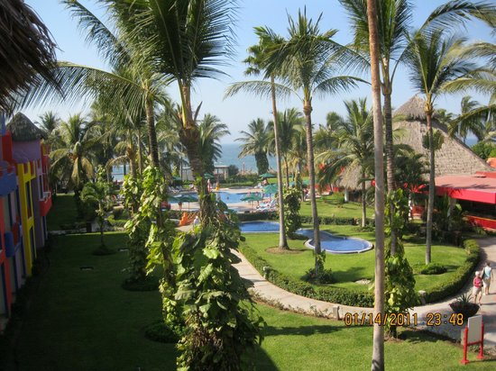 Royal Decameron Complex:                   View from my room.