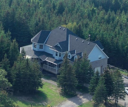 Hillview Haven B&B: Ariel view