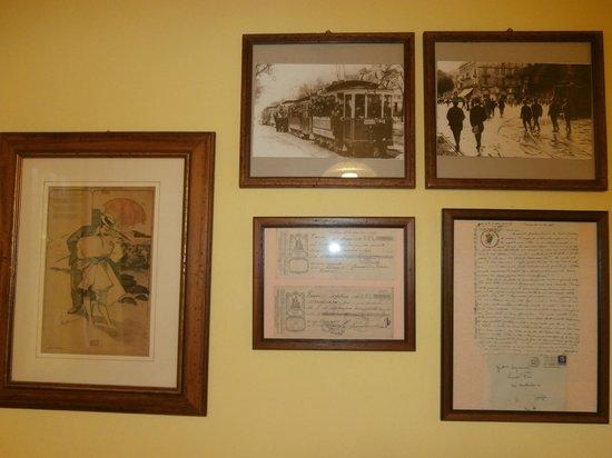 Ristorante Al Castet: Pictures on wall