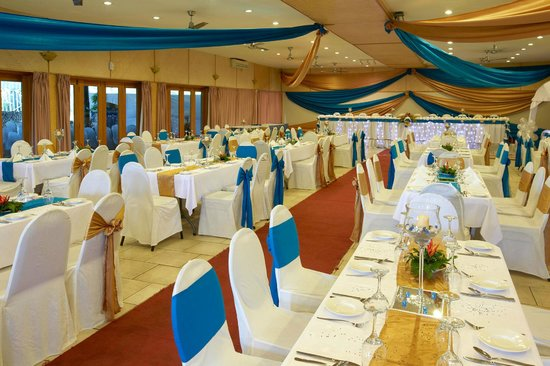 Lami, Fiji: Wedding set up Novotel House