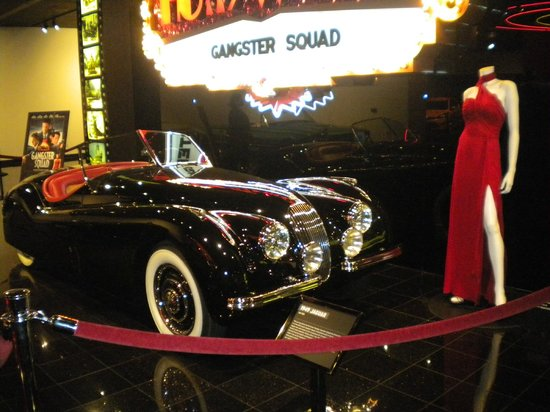 """Gangster Squad"" car, Petersen Automotive Museum"
