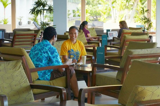 Novotel Suva Lami Bay: Coffe Time at Tonique Lounge and Bar