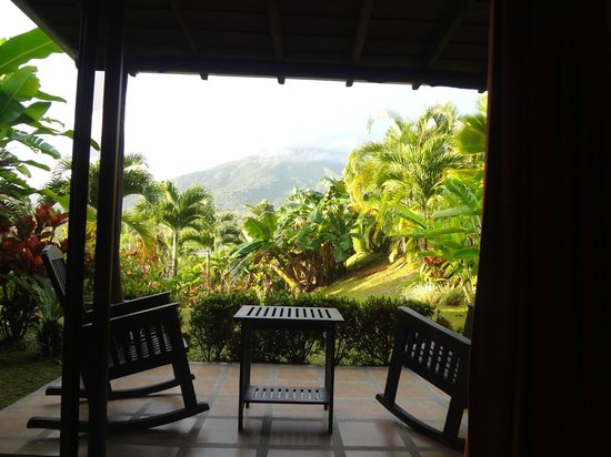 Arenal Manoa Hotel:                   View From Inside Our Room