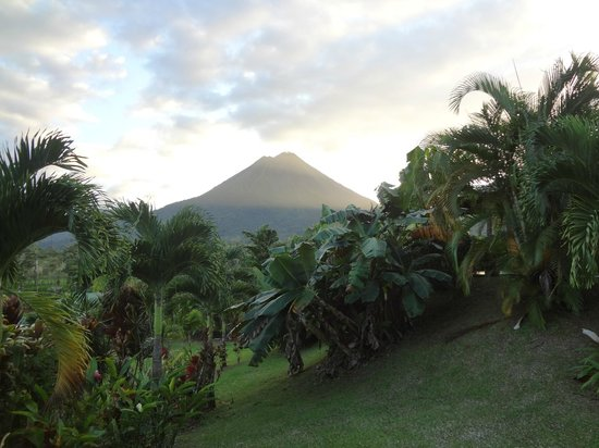 Arenal Manoa Hotel & Spa:                   Standing Outside the Room