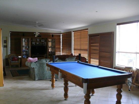 Bella Wind Bed and Breakfast: Snooker