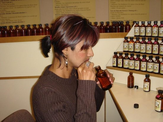 Parfumerie Galimard : making my own perfume