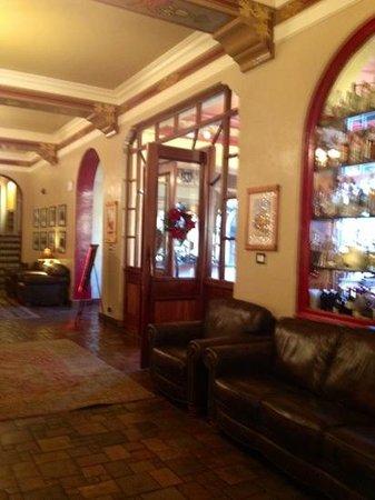 Hotel Monte Vista:                   pretty lobby