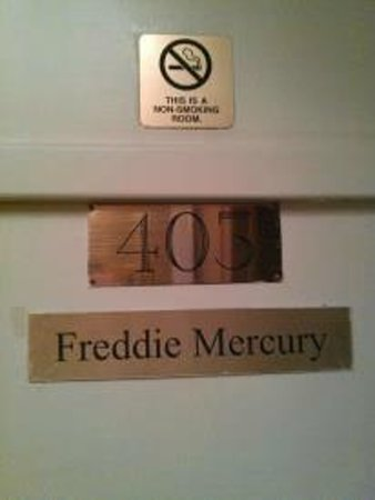 Hotel Monte Vista:                   Freddie Mercury ... *Sigh* I miss the room SO MUCH!