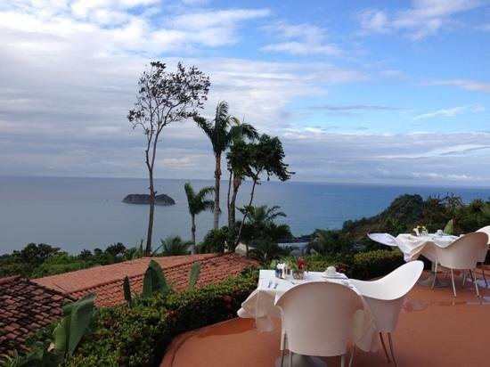 La Mariposa Hotel:                   restaurant views