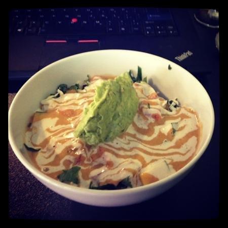 Amerawcan Bistro:                   quinoa bowl