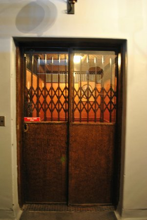 Jerome Grand Hotel:                   The Ol' Fashioned elevator