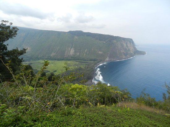 Waipi'o Valley Wagon Tours: The View Of Waipio Valley From Above