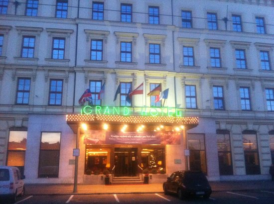 Grandhotel Brno:                   Early morning shot