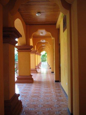 Hotel San Bada:                   Hotel halls