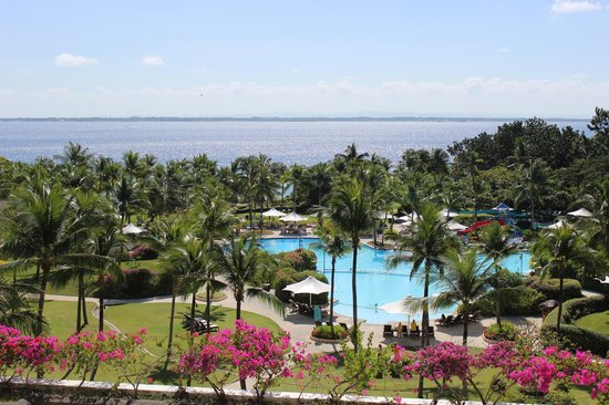 Shangri-La's Mactan Resort & Spa:                   view from the room