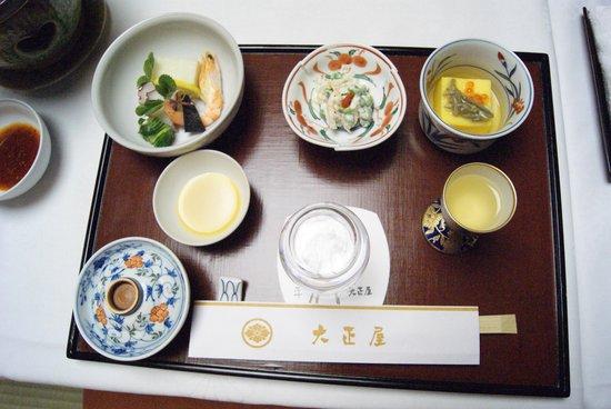 Taishoya:                   夕食の一部ですⅠ(嬉しいお部屋だし)