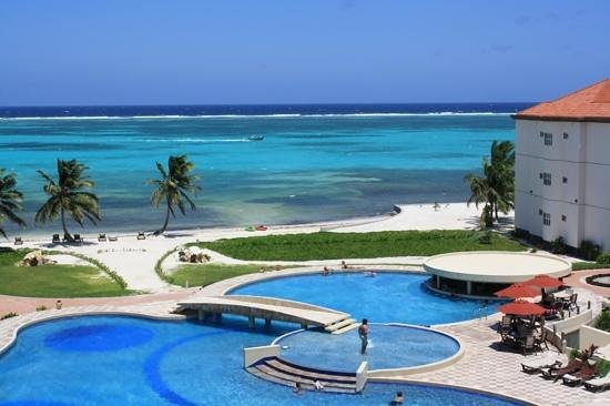 Grand Caribe Belize Resort and Condominiums:                                     What a view from our room!