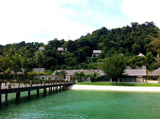 Pangkor Laut Resort: Entrance