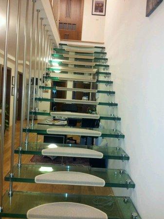 Wandering Praha:                   Stairs
