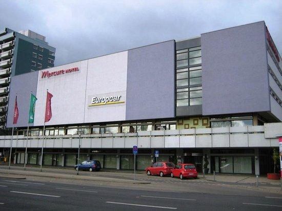 Mercure Hotel Atrium Braunschweig: Hotelgebäude