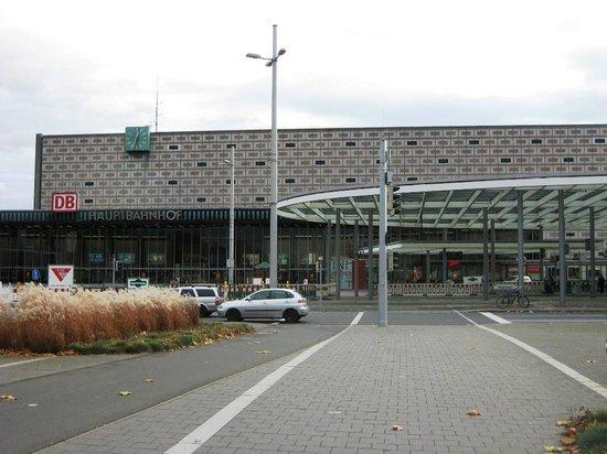 Mercure Hotel Atrium Braunschweig: Blick vom Hotel auf den Hauptbahnhof