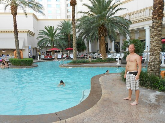 Monte Carlo Resort & Casino:                   En av flera pooler
