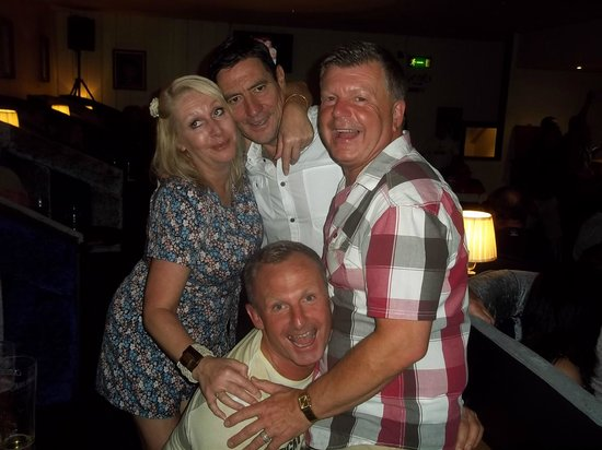 The Wilcot Hotel: Terry & Scott with us on night out