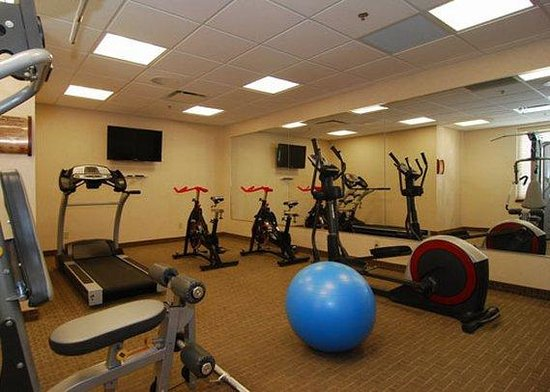 Quality Inn & Suites Val d'Or : exercise room