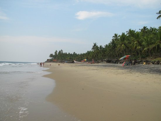 Varkala Beach : Odayam-Beach