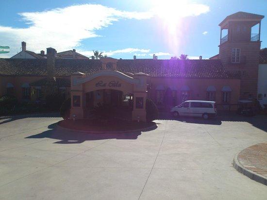 La Cala Resort:                   Main Entrance
