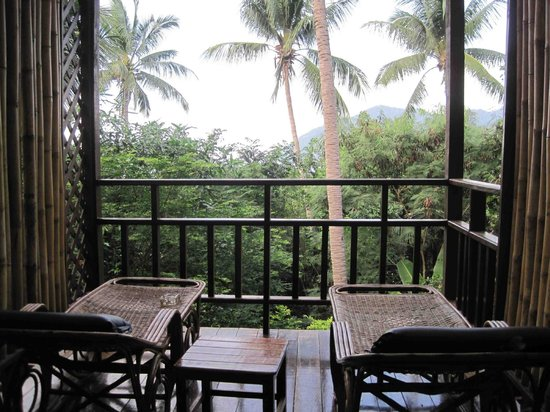 Charm Churee Villa:                   Balcony of room