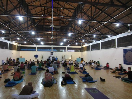 Agama Yoga: the enlightenment hall from inside