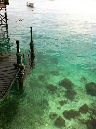 Mabul Water Bungalows : mare