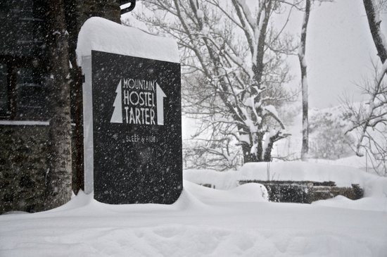 Mountain Hostel Tarter:                   Exterior