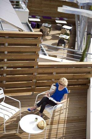 Hype Hotel : Terrasse
