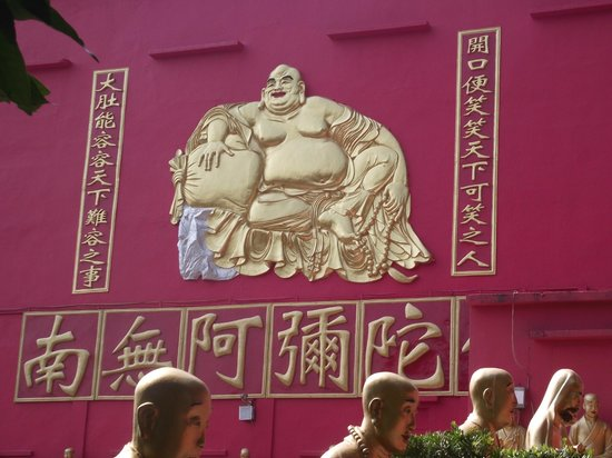 Ten Thousand Buddhas Monastery (Man Fat Sze):                   Entrance of Budas