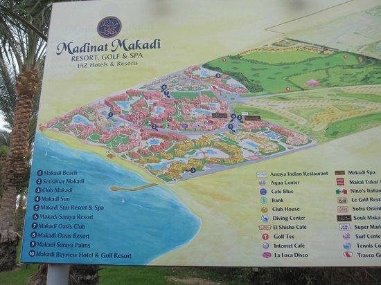Jaz Makadi Oasis Resort and Club:                   Madinat Makadi - hotellområdet i stort