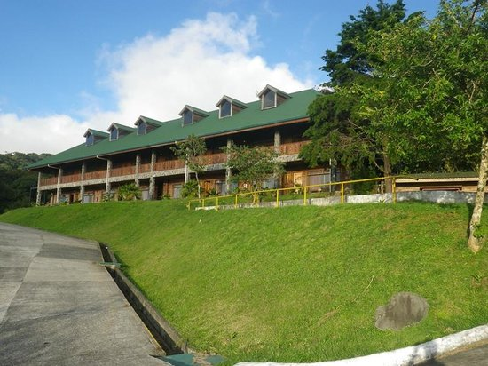 Heliconia Hotel:                   Rooms at the top of the hill.