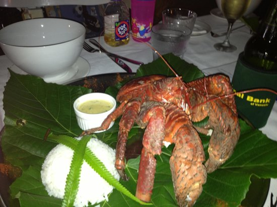 Aquana Beach Resort:                   The Coconut Crab