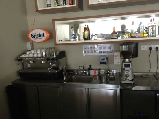 Century Langkasuka Resort:                   The Only Coffee Machine