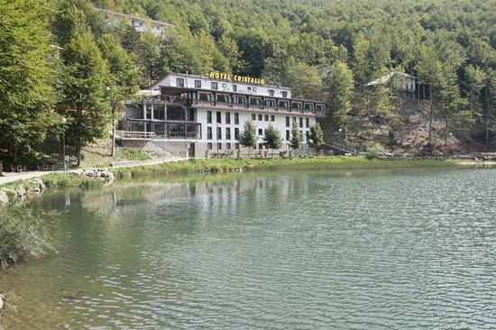 Hotel Cristallo:                   panoramica dell'hotel
