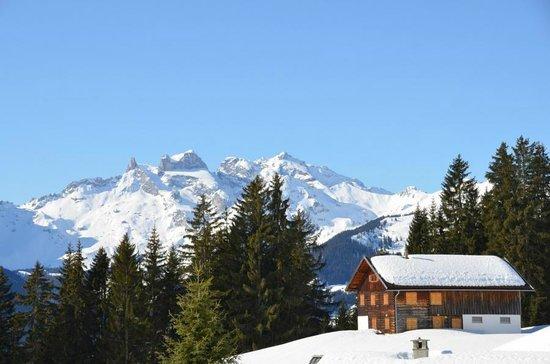 Ferienhotel Fernblick: Skihütte im Montafon