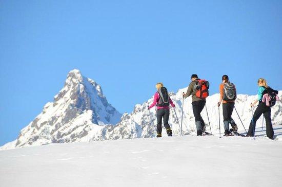 Ferienhotel Fernblick: Schneeschuhwandern mit den Fernblick-Guides