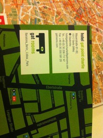 Hotel Gat Point Charlie: Hotel Info