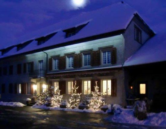 Restaurant alte Muehle:                   Winterstimmung