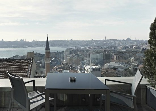 Witt Istanbul Suites: King Panoramic Terrace