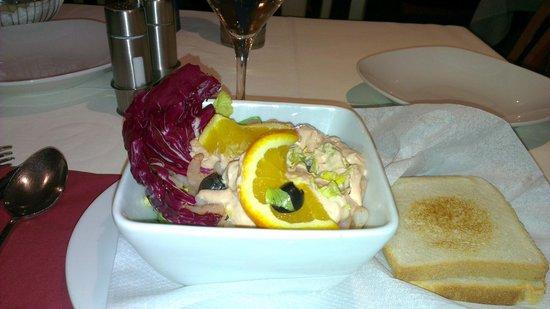 Renzo:                   салат с креветками