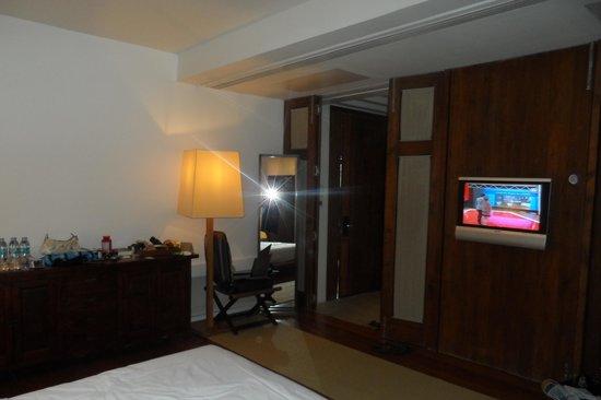 Putahracsa Hua Hin:                   binnen de slaapkamer